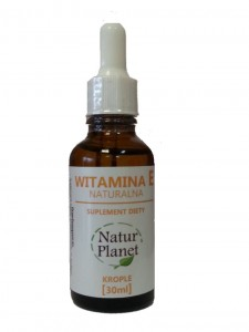 Witamina E Krople 30ml Natur Planet