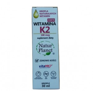 Natur Planet Witamina K2 MK7 Forte W Kroplach 30ml