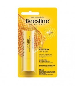 Beesline BEESWAX Bezzapachowy Balsam Do Ust 4g