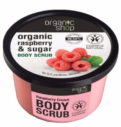 Organic Shop Scrub Do Ciała Raspberry&Sugar 250ml.jpg